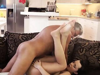 Girl sucks old man first time What would you choose -
