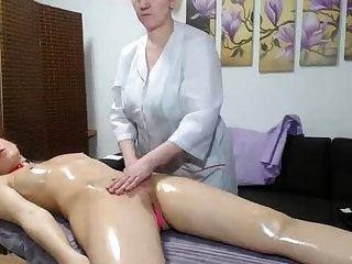 OldNanny Aged mature lesbian and mature main masturbate