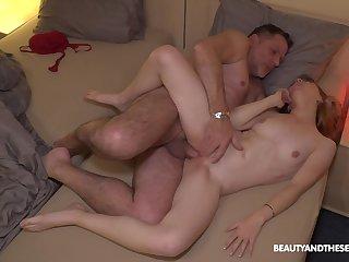 Chubby doyen man taps purchase young Lina Roselina's sexuality